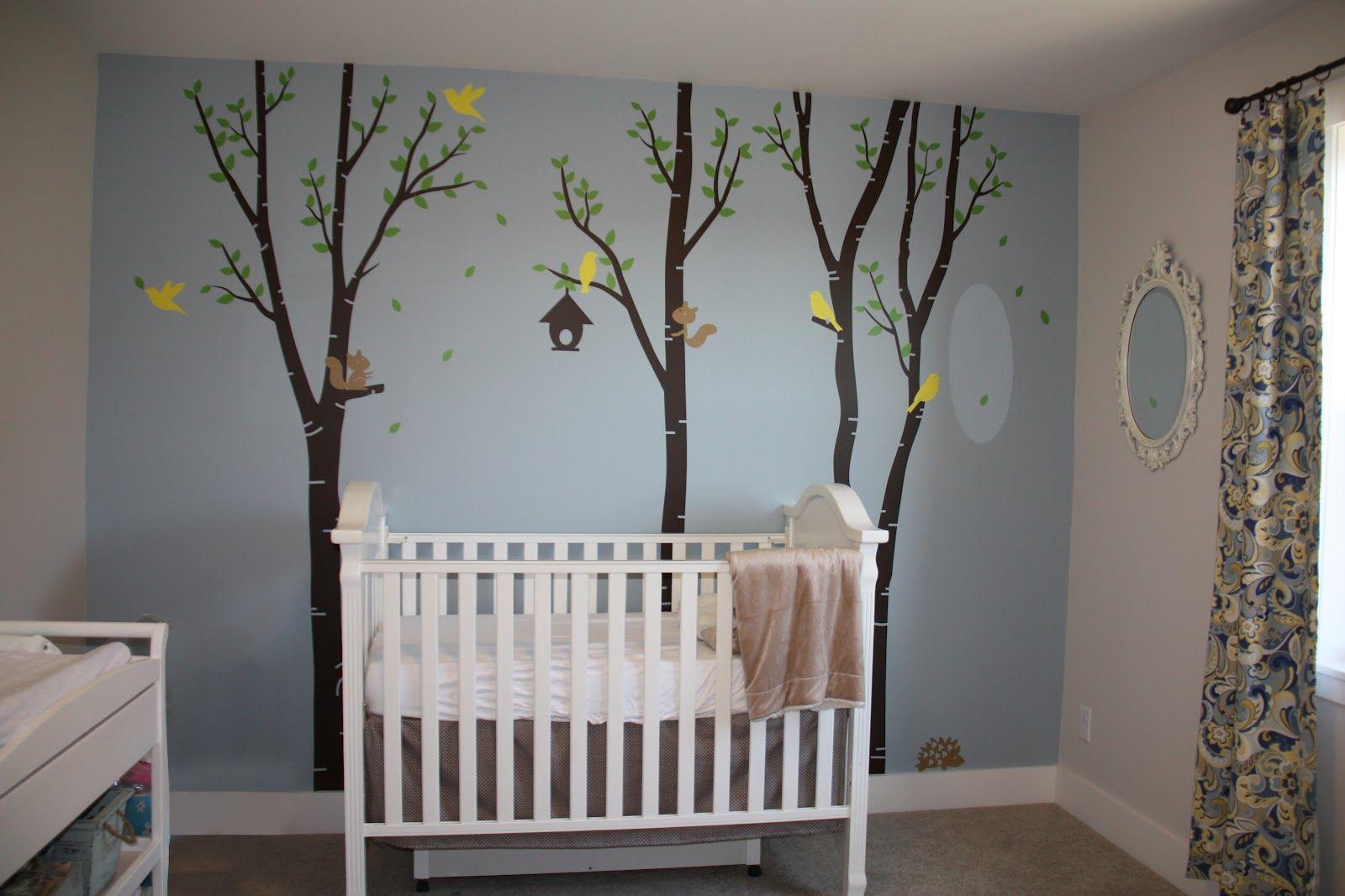 Blue And Green Baby Boy Nursery Ideas