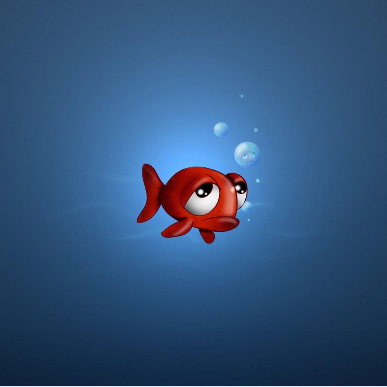 Fun Humor Sad Fish Face Cartoon Wallpaper For Ipad Misc Anime Images