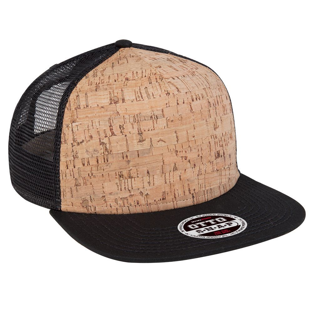 6ef0633e261 OTTO Cap - Wholesale promotional blank hats and caps 154-1174 Cork Square  Flat…