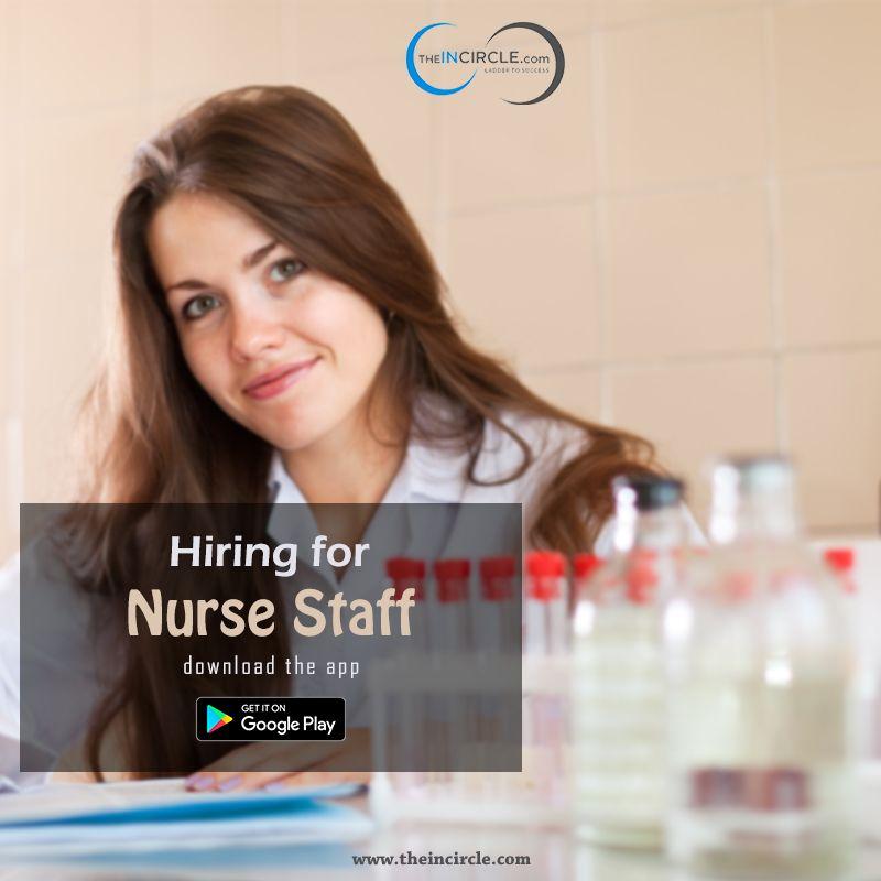 Urgent hiring for nurse staff in delhi nurse staffing