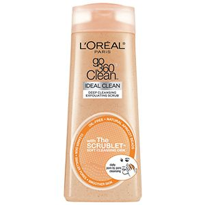 bb088615485 Go 360 Clean Deep Exfoliating Scrub facial cleanser skin care by L Oreal  Paris. Oil-free foaming cleanser scrub cleans pores   removes oil   makeup  while ...