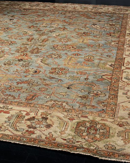 Seaside Oushak Rug 10 X 14