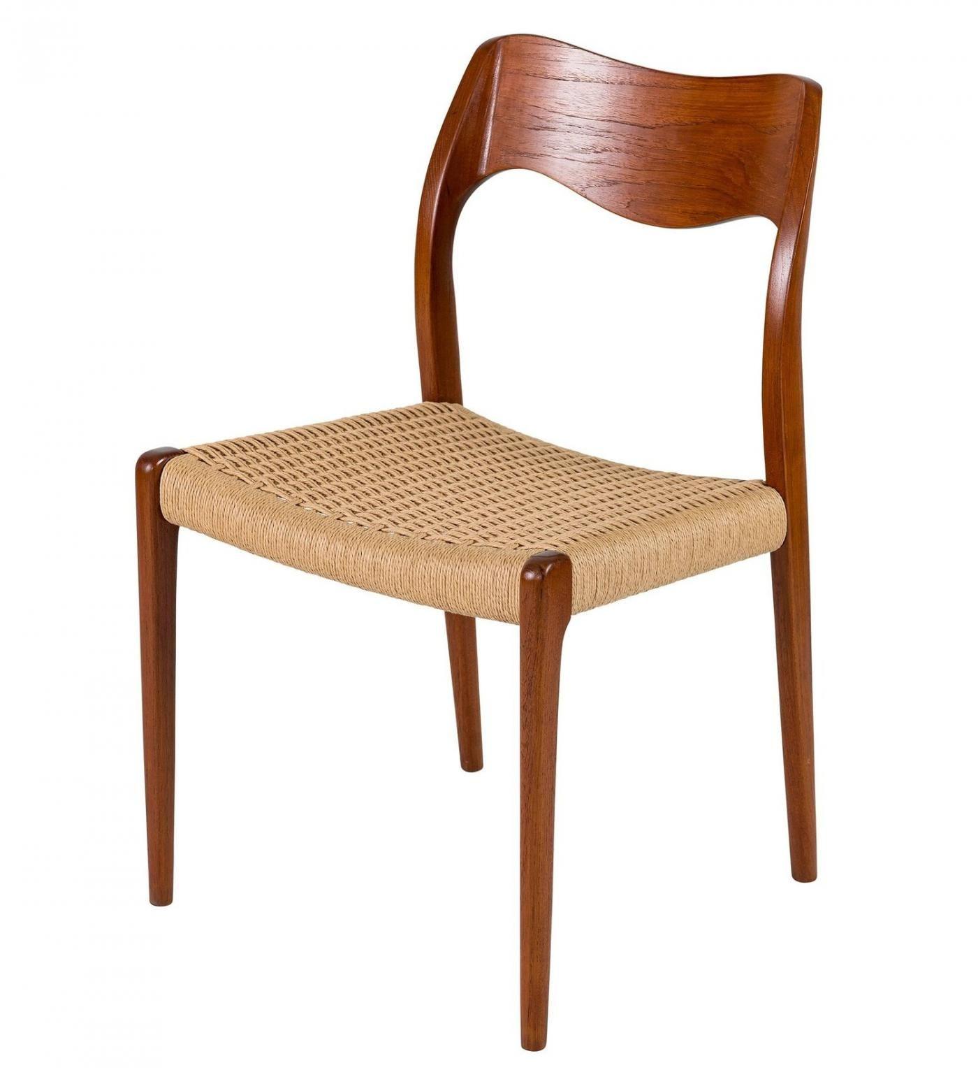 Niels Otto Moller Set Of Eight Teak Niels Moller Dining Chair Design Teak Moller