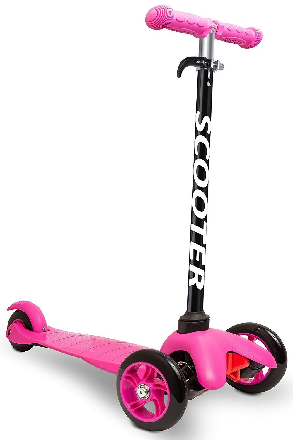Den Haven Scooter For Kids Deluxe Aluminum 3 Wheel Glider With