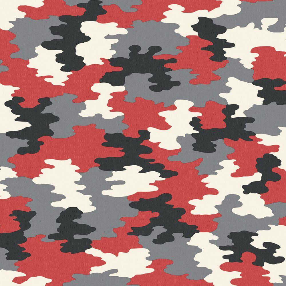 8 In X 10 In Red Camouflage Wallpaper Sample Reds Pinks Camouflage Wallpaper Pink Camouflage Wallpaper Black And Red