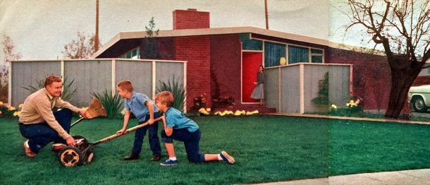 The space house: Small-home design (1956 | 1950s design, House and ...