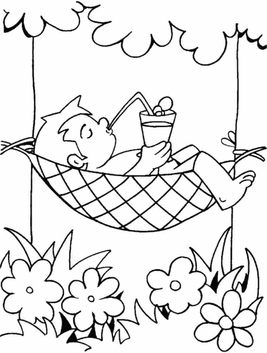 Happy Summer Coloring Pages New Colouring Pages For Summer Free Printable Summer Zomer Kleurplaten Kleurplaten Kleuren