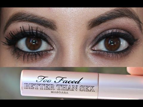 TOO FACED BETTER THAN SEX MASCARA | First Impressions + Demo ...