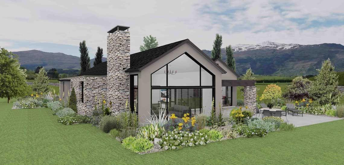 wakatipu 5 bedroom house design landmark homes builders nz new