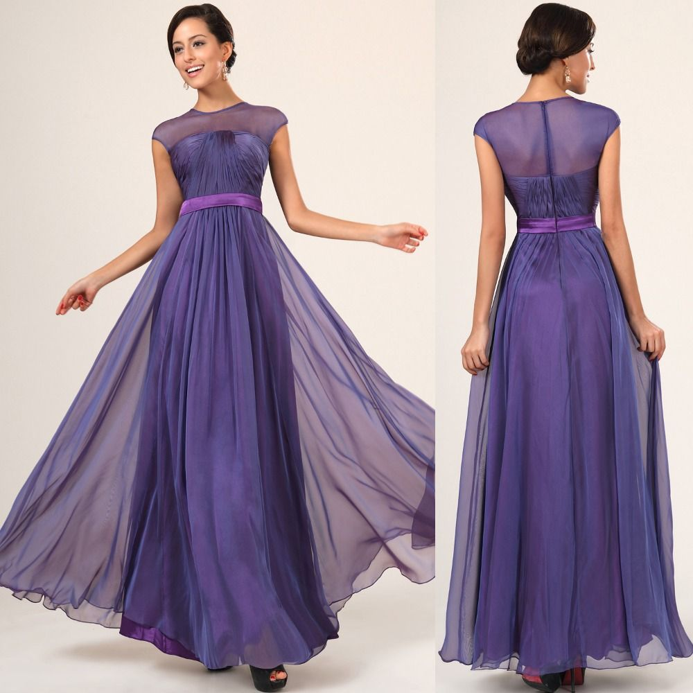 Find more bridesmaid dresses information about lt0416 deep purple find more bridesmaid dresses information about lt0416 deep purple chiffon two tone maxi slim waist long ombrellifo Images