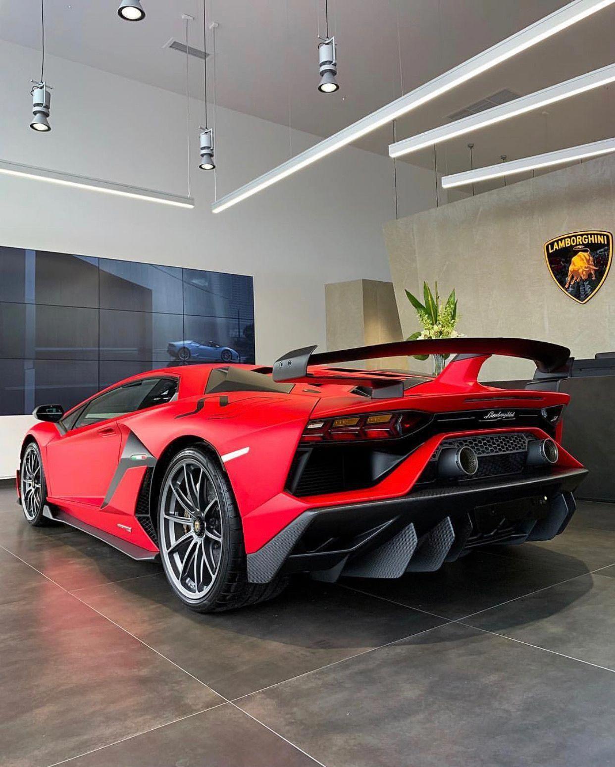 Lamborghini Aventador Super Veloce Jota Painted In Ad Personam