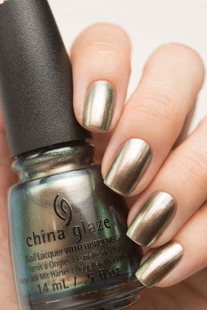 China Glaze 82704 Gone Glamping | Nailed It | Nails, Gold nail ...