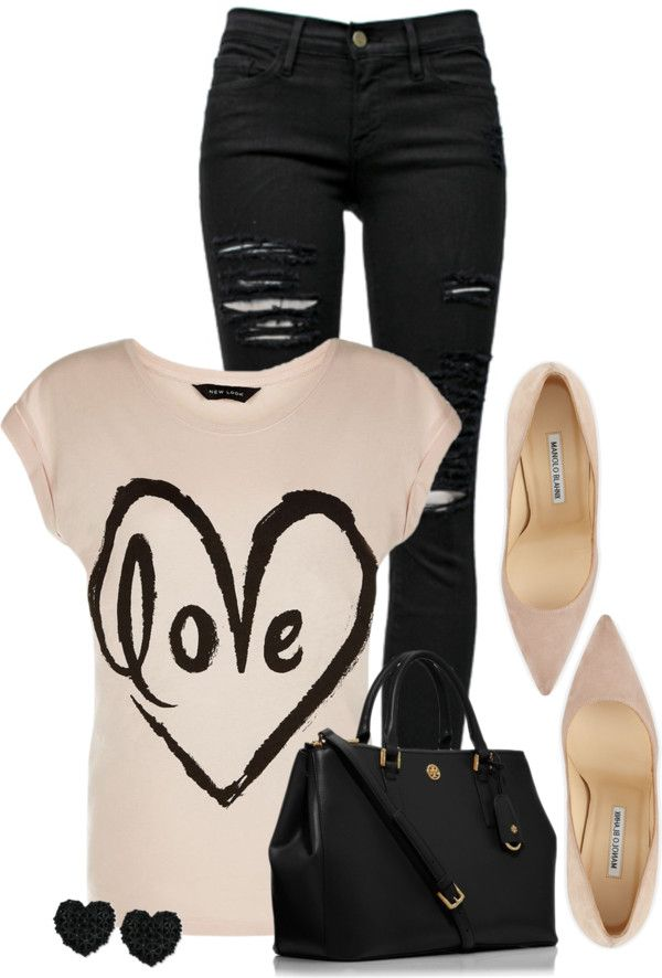 25 Great Ideas Of Valentines Day Outfits From Polyvore Casual