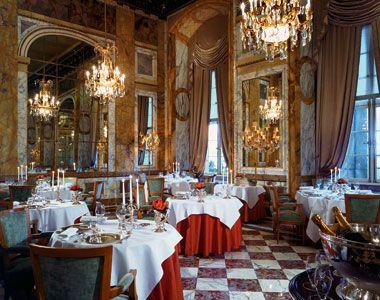 Les Ambadeurs Restaurant In The Hôtel De Crillon Paris France