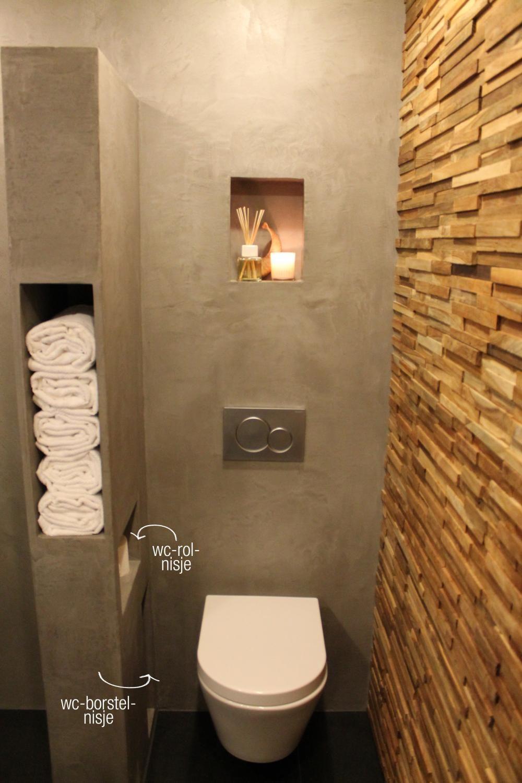 Storage in the wall | Idée salle de bain, Idée toilettes et ...
