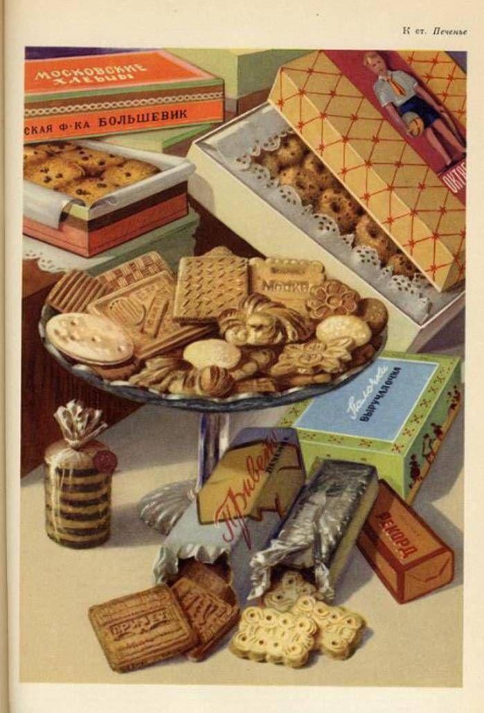 Soviet cookies.