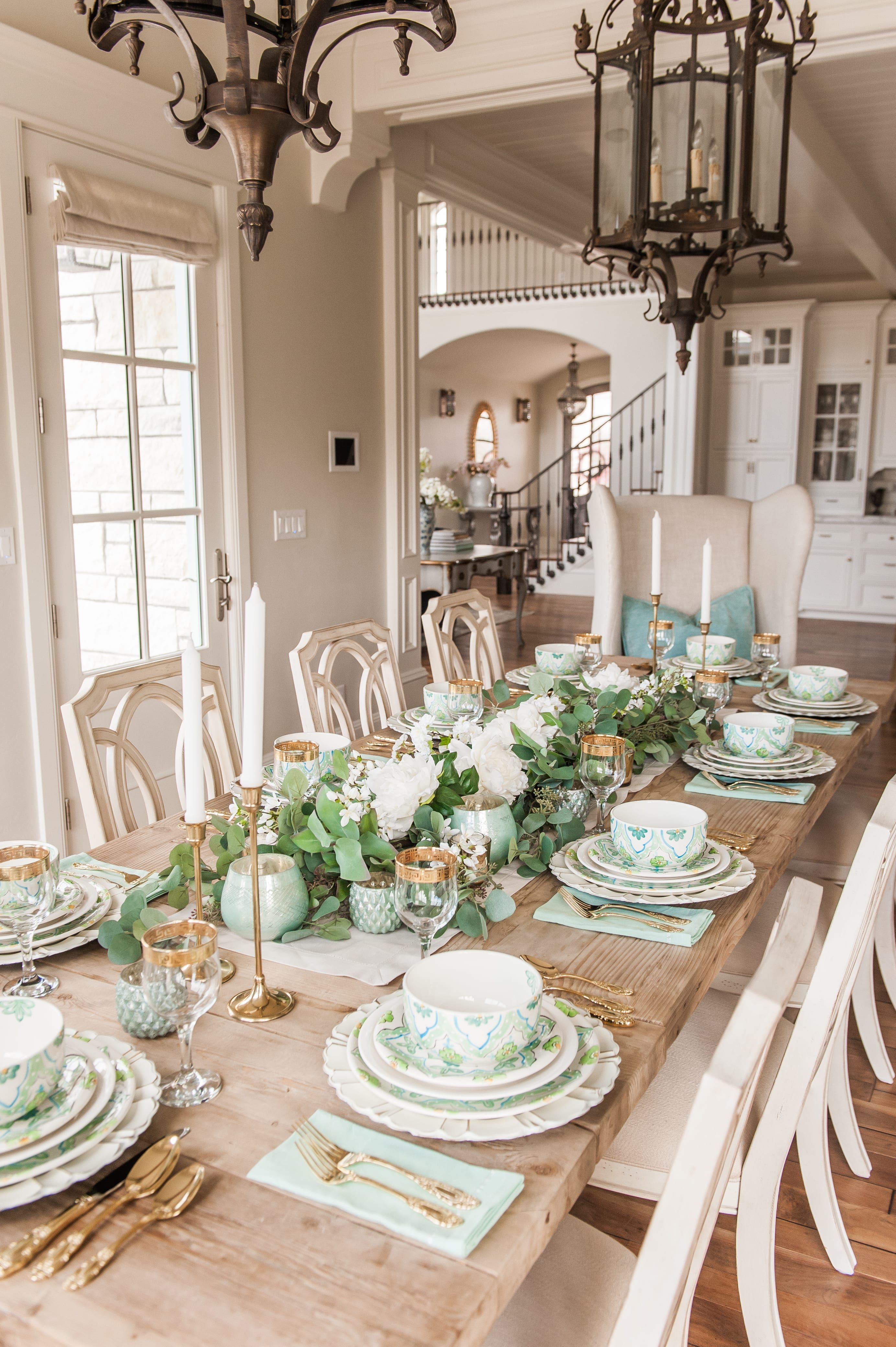Versatile Tablescape for St. Patricks Day, Spring, and