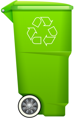 Garbage Trash Bin With Recycle Symbol Png Clip Art Recycle Symbol Recycling Trash Bins