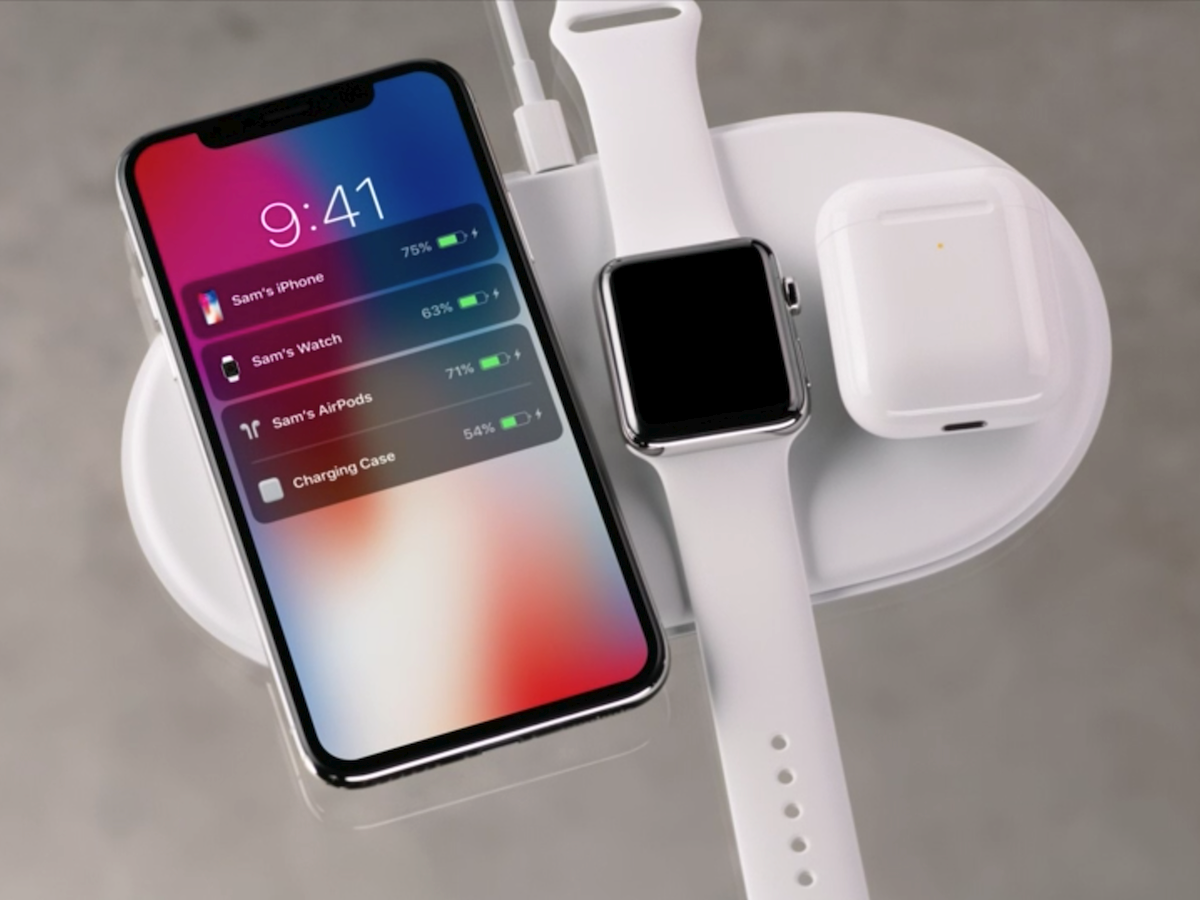 Apple Airpower Wireless Charger Can Power Iphone X Iphone 8 Airpods And Watch At The Same Time Wireless Charger Iphone Apple Watch