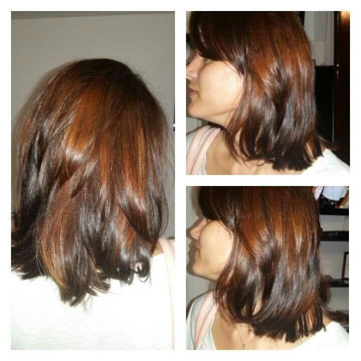 Nuante Calde De Ciocolatiu Si Saten Vopsit Long Hair Styles