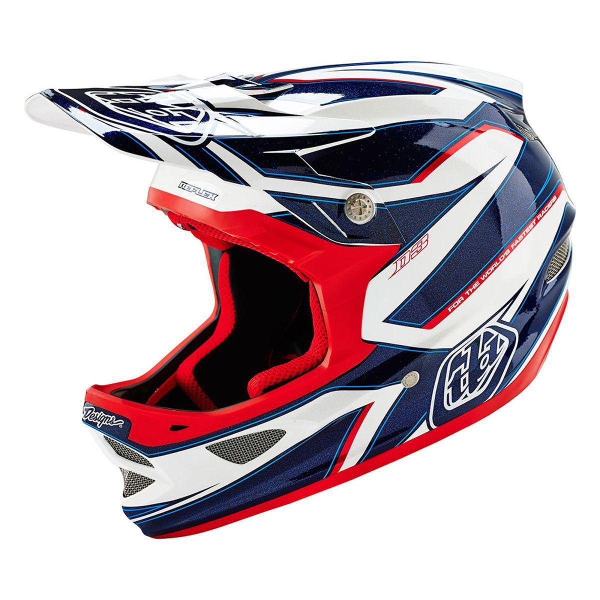 Troy Lee Designs D3 Composite Full Face Helmet For Mountain Bike