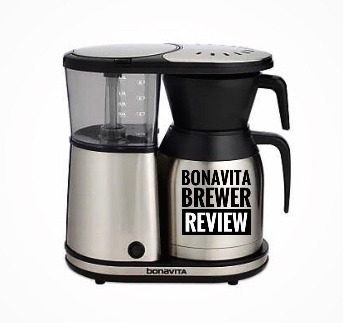 Bonavita 8 Cup Thermal Carafe Coffee Brewer Review