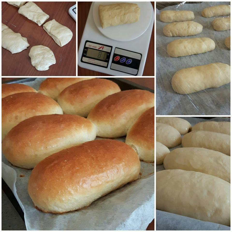 Panini sofficissimi per hot dog cucinare panini hot for Cucinare hot dog