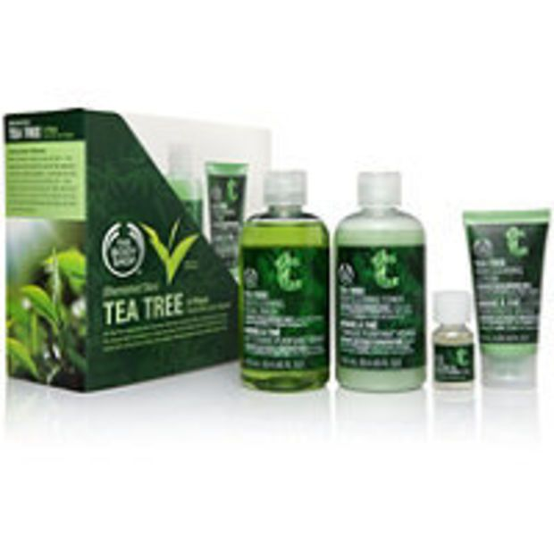The Body Shop Tea Tree 4 Piece Facial Skin Care Kit Ulta Com Cosmetics Fragrance Salon And Beauty Gifts Tea Tree Skincare The Body Shop Skin Care Kit