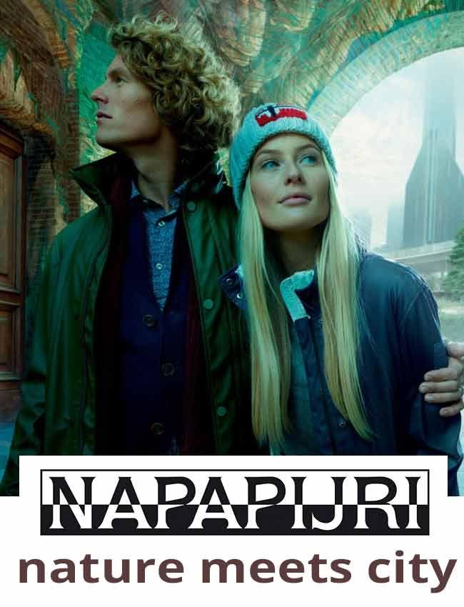 Napapijri winter collectie, de natuur ontmoet de stad. In de