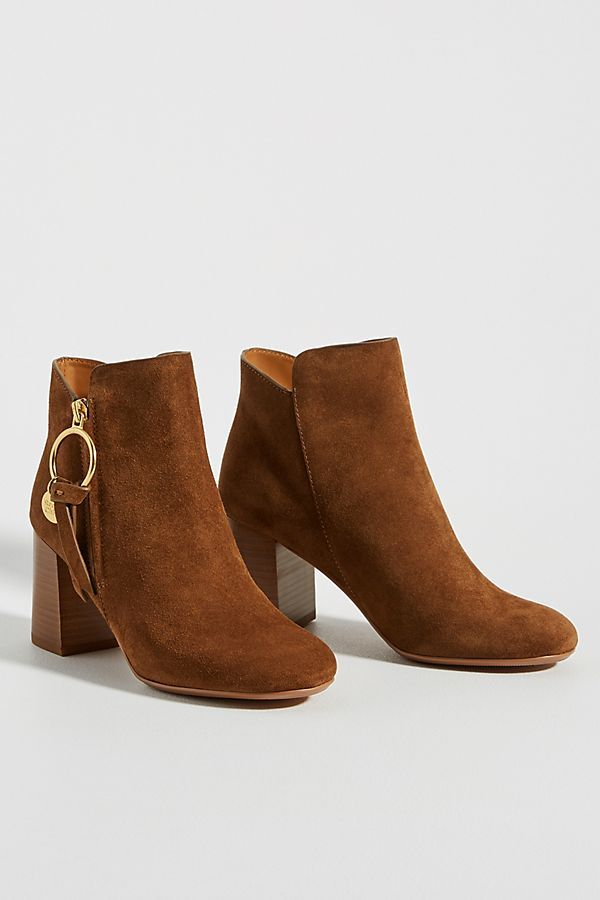 See by Chloe Louise Booties By in Yellow Size: 41, Boots at Anthropologie #seebychloe