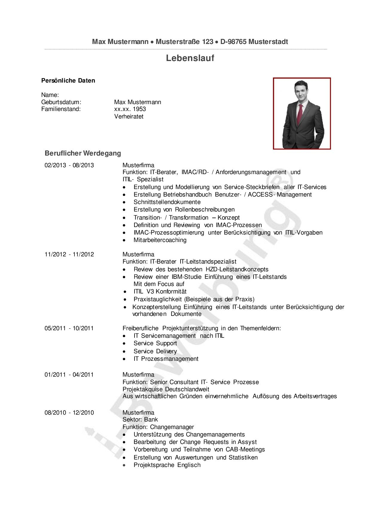 Ein Ratgeber für Ihre Karriereplanung | Lebenslauf Beispiele ...
