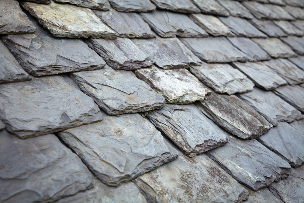How Much Does Slate Roofing Cost Slate Roof Tiles Slate Roof Roof Shingles
