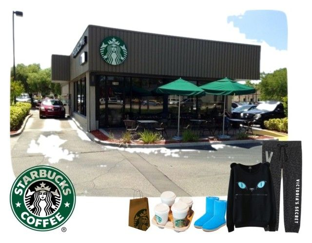 """Saturday morning Starbucks run"" by cathyvillalobos ❤ liked on Polyvore featuring UGG Australia"