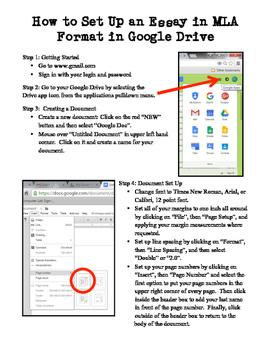 MLA Format Cheat Sheet for Google Docs | Teaching Stuff | Google