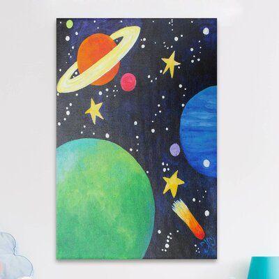 Marmont Hill Planet Colors Canvas Art | Wayfair