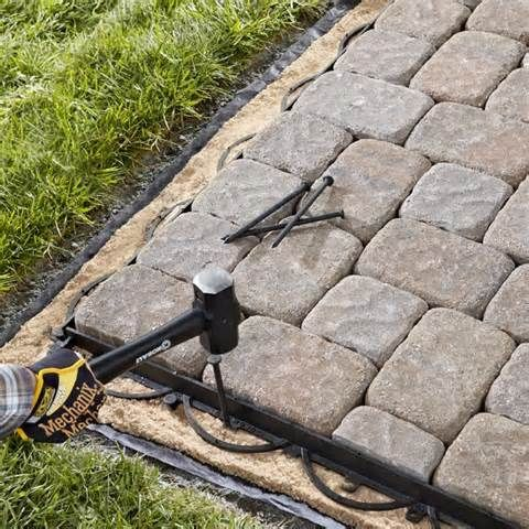 Superieur Patio Paver Installation Instructions   How To Install Paver Patio Edging