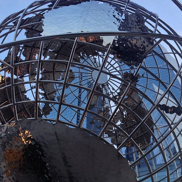 Columbus Circle Globe, NYC