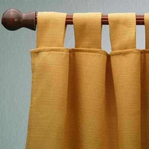 cortinas 2 paños- al costo!!-tela rusticas madras en colores ...