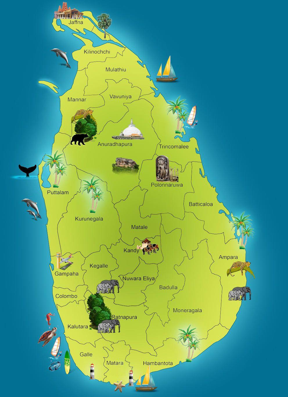 Sri Lankan Map Meeting New Friends Rock Music News New Friends