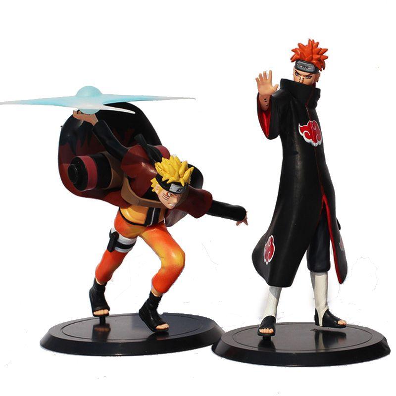 Naruto Kakashi Naruto Uzumaki Gaara 20cm Anime Action Figure Collection Kids Toy