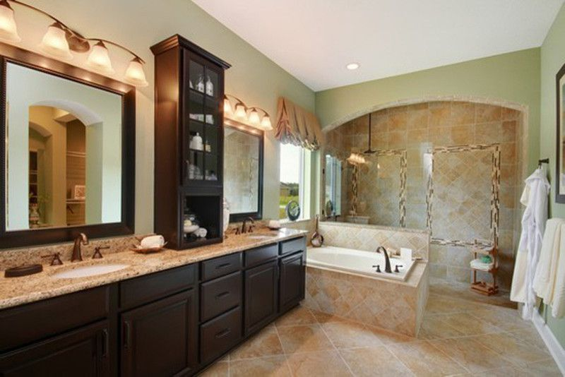 Splashy David Weekley Homes Method Jacksonville Traditional Bathroom Inspiration With None