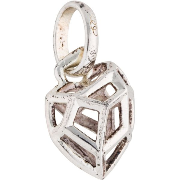 Pre-owned Links of London Cutout Heart Charm ($45) ❤ liked on Polyvore featuring jewelry, pendants, charm pendant, charm jewelry, pre owned jewelry, sterling silver charms and sterling silver heart jewelry