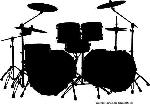 Free Silhouette Clipart Silhouette Free Drums Art Clip Art