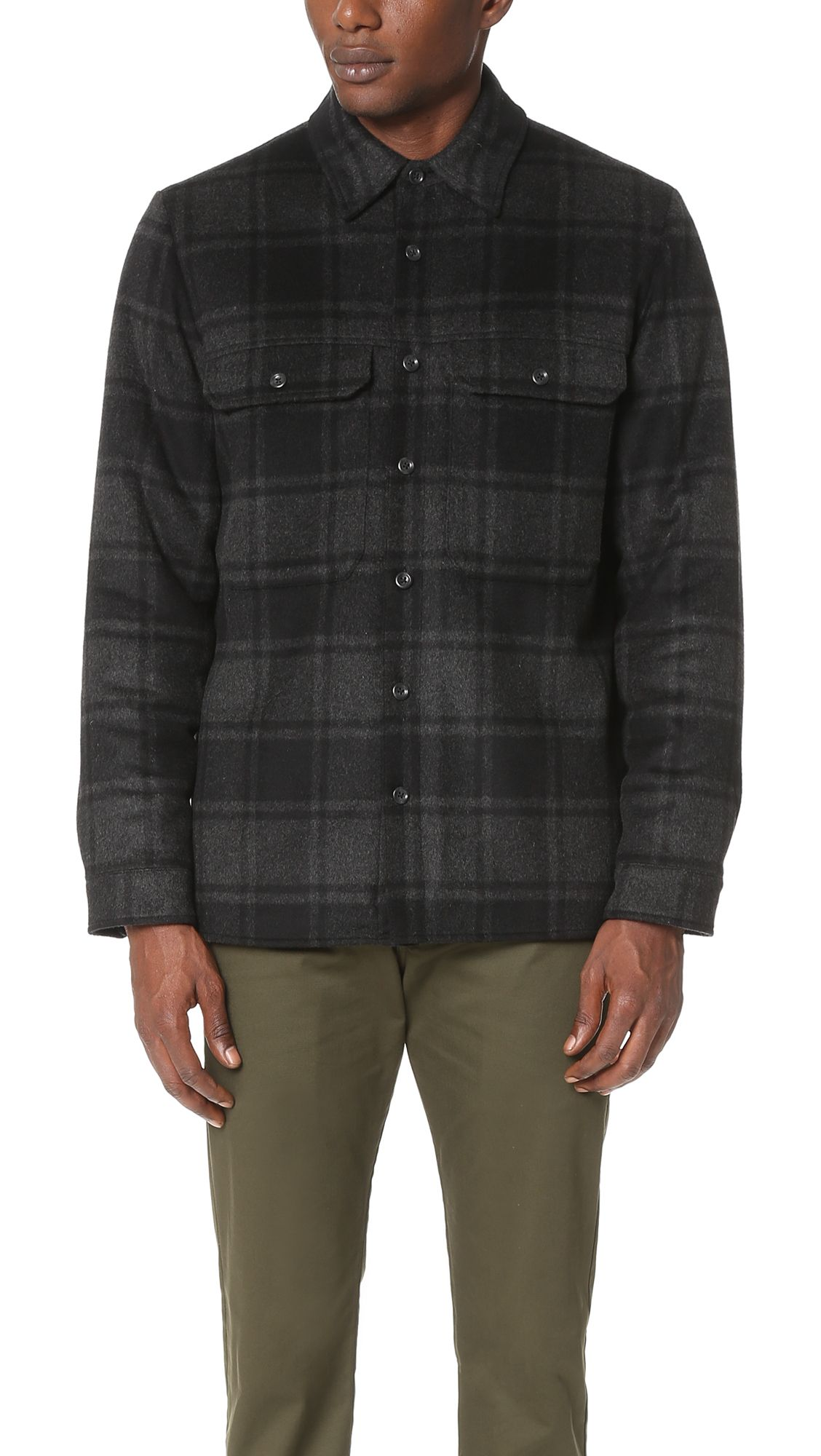 Explore Military Jackets, Plaid, and more! VINCE Wool ...