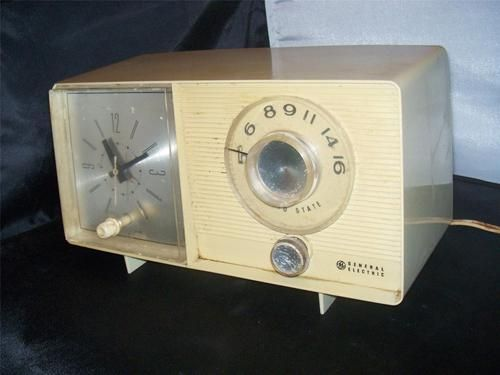 Details about General Electric C-1479-B Alarm Clock AM Radio