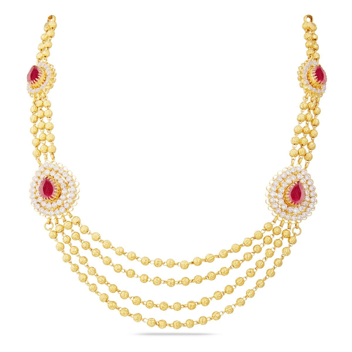 Indian Gold Jewellery Necklace Designs With Price: Gold Necklace Design In 30 Grams With Price