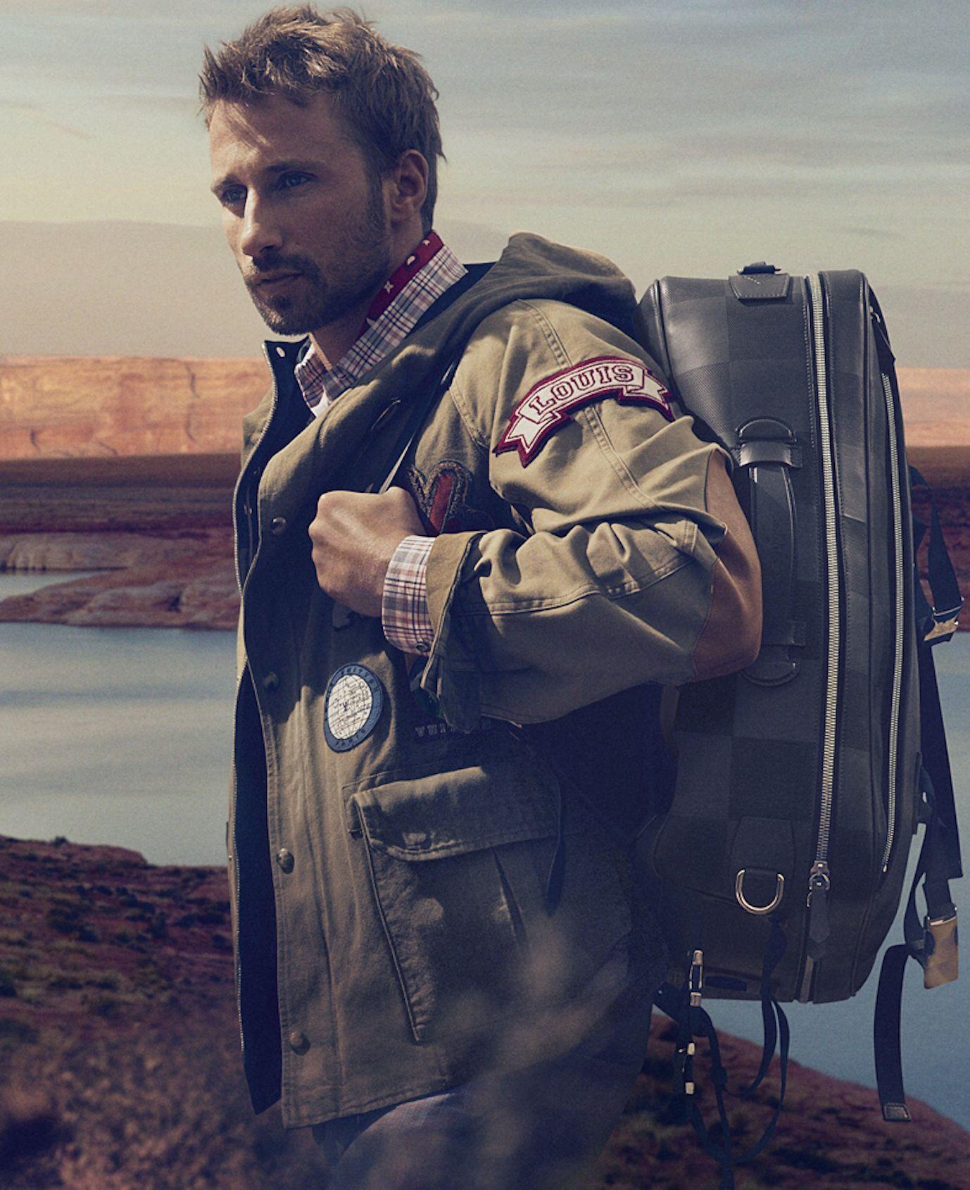 Matthias Schoenaerts pour Louis Vuitton Printemps / t 2014 #Louis #Vuitton #Men