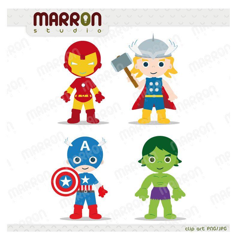 Superhero Inspired Set Avengers Kids Thor Captain America Iron