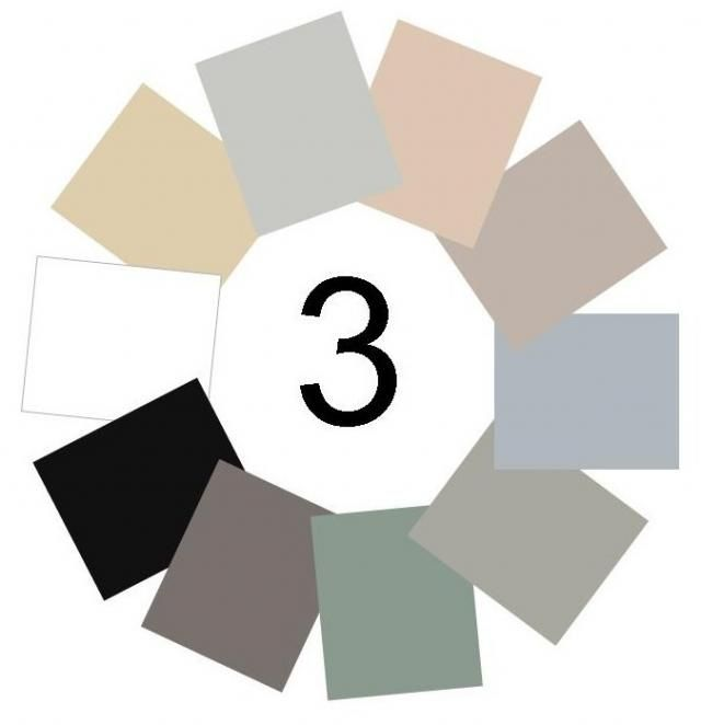 Neutral Color Wheel | Neutral Colors Wheel