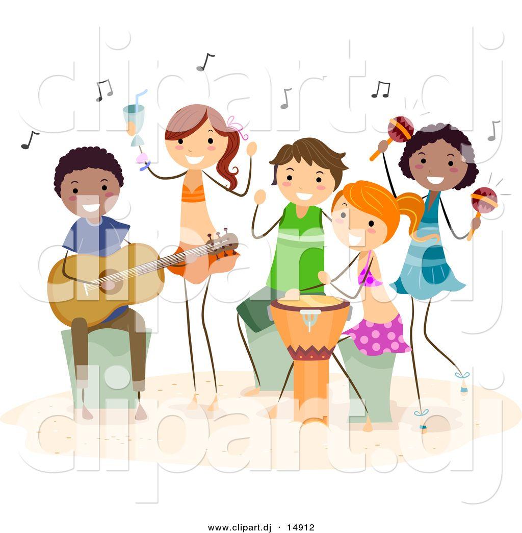 stick kids images + music | beach kids playing music music ...